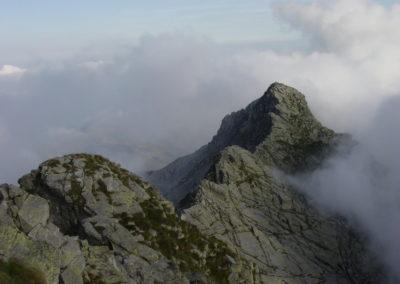 dalla cima di Bo, la cresta verso la Valdescola