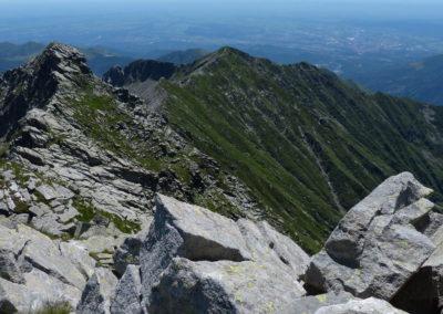 la cresta verso la Valdescola - foto di Corrado Martiner Testa