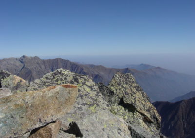 sguardo sulla testata dell'Alta Valle Cervo